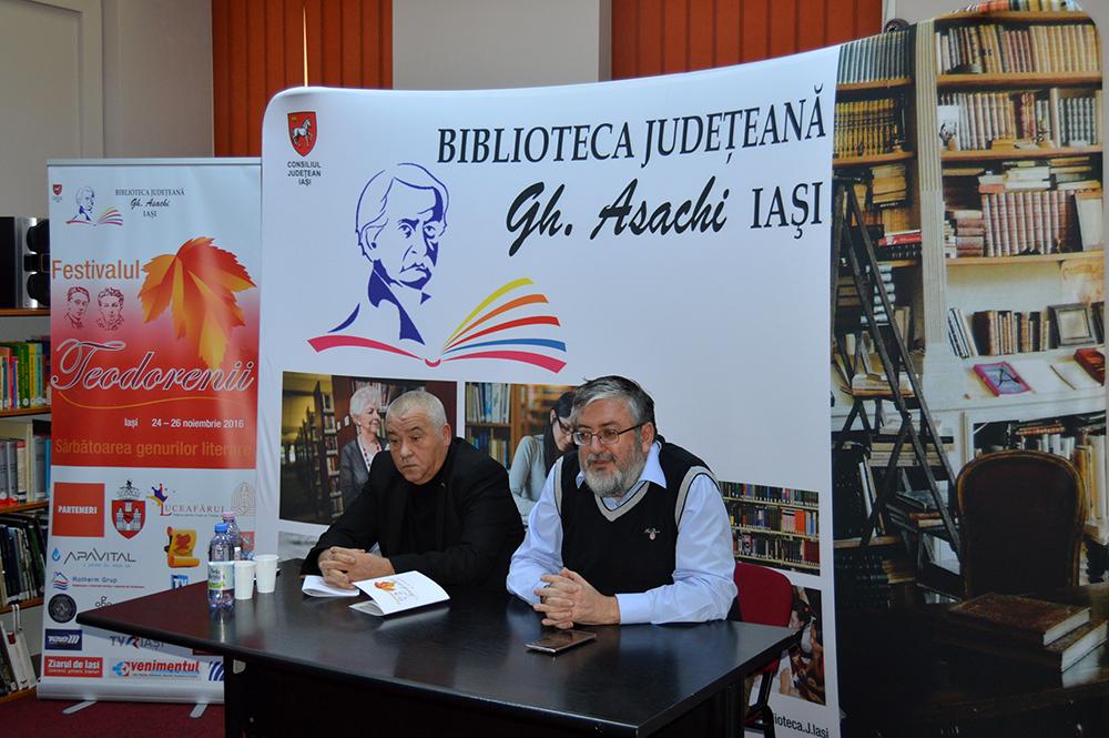 """Festivalul """"Teodorenii"""", Ediția a II-a, 2016 - Conferință de presă"""