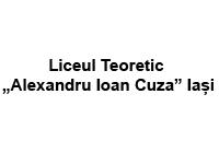 """Liceul Teoretic """"Alexandru Ioan Cuza"""" Iași"""