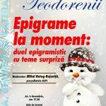 """""""Șaga, umorul și satira"""": recital de epigramă și poem ironic"""