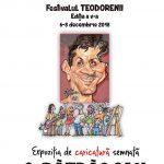 Expoziție de caricatură a graficianului şi caricaturistului Costel Pătrăşcan