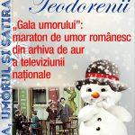 """""""Gala umorului"""": maraton de umor românesc din arhiva de aur a televiziunii naționale"""