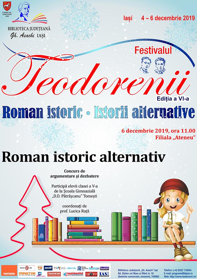 Roman istoric alternativ: concurs de argumentare și dezbatere