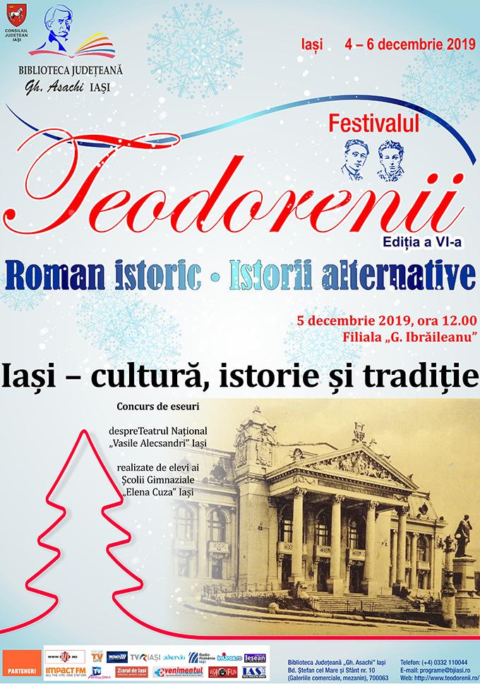 """""""Iași – cultură, istorie și tradiție"""" (concurs de eseuri)"""