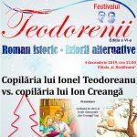 Copilăria lui Ionel Teodoreanu vs. copilăria lui Ion Creangă