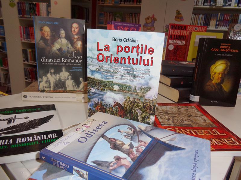 Memoria afectivă a istoriei -Expoziție de carte din colecțiile bibliotecii