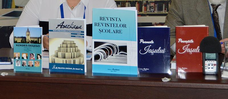 Lansarea revistei Asachiana și a trei antologii