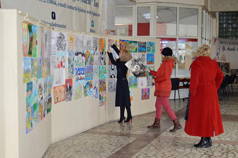 Festivitatea de premiere a câștigătorilor concursurilor de desene și de traducere și retroversiune